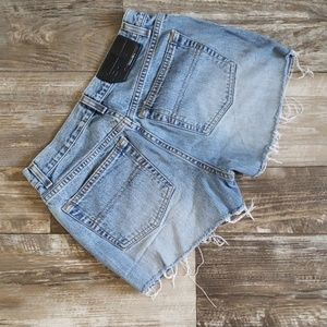 Bcbgmaxazria denim shorts size 5